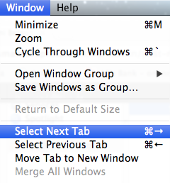 Overriding default keyboard shortcuts in Mac OSX (Mountain Lion) (3/3)