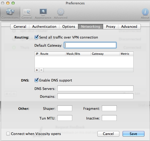 Secure browsing via untrusted wifi networks using OpenVPN