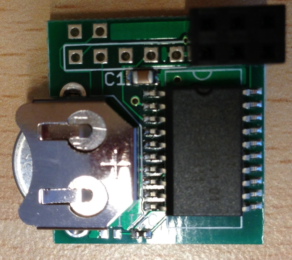 Adding a hardware clock (RTC) to the Raspberry Pi (2/5)