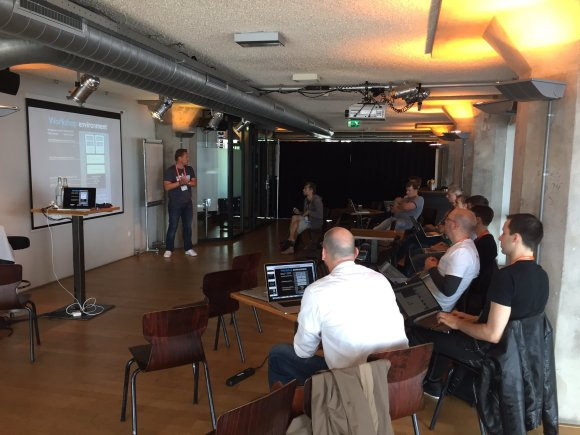 DevOpsDays Amsterdam 2016 Cosmic workshop
